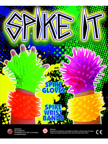 Spike it glove / wristband mix