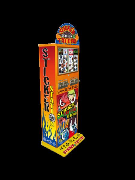 Tatoveringsautomat m/ 4 kolonner