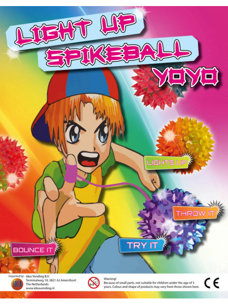 Spike Ball Yoyo with light