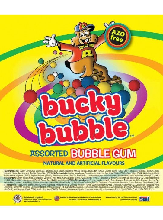 Bucky Bubble Assorted